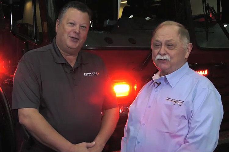 Chris Ferrara and Bill Peters