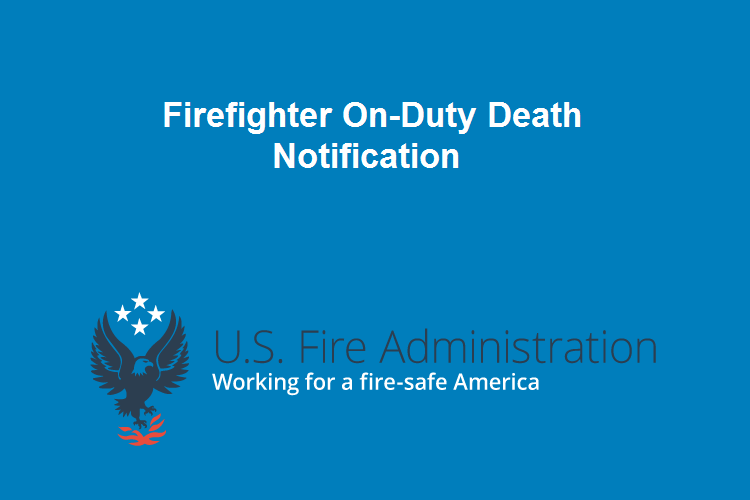 USFA: North Carolina On-Duty Death