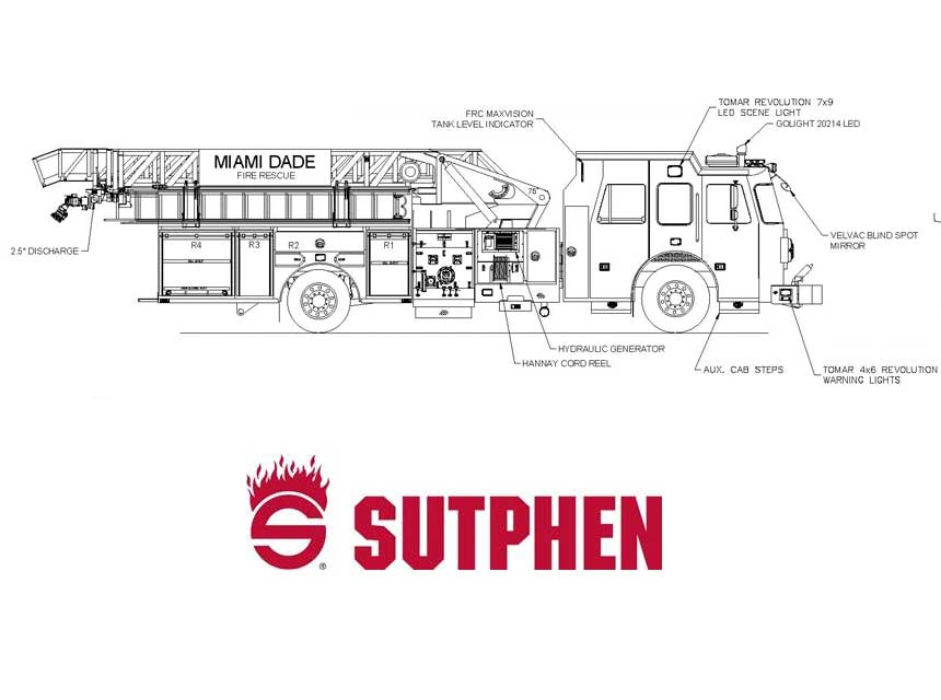 Sutphen schema for Miami-Dade Fire Rescue