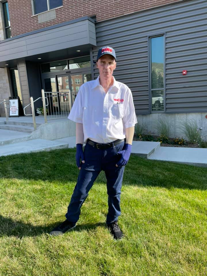 Red Lodge (MT) Welcomes Home Firefighter from UT Burn Center