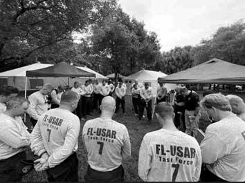 FL USAR Task force at Surfside