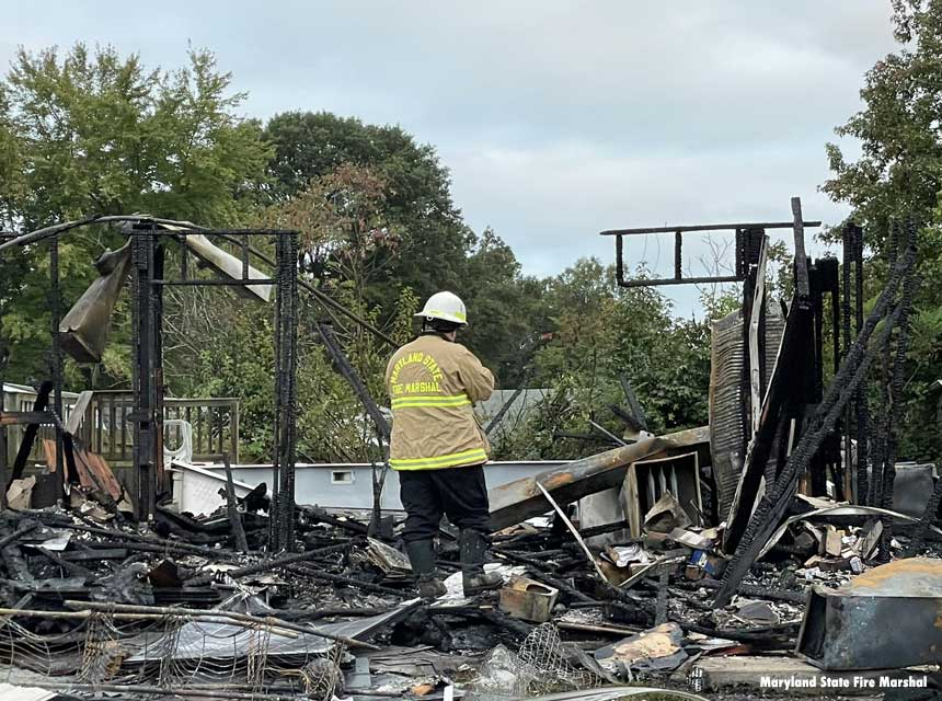 Man Critically Injured After MD Home Explodes