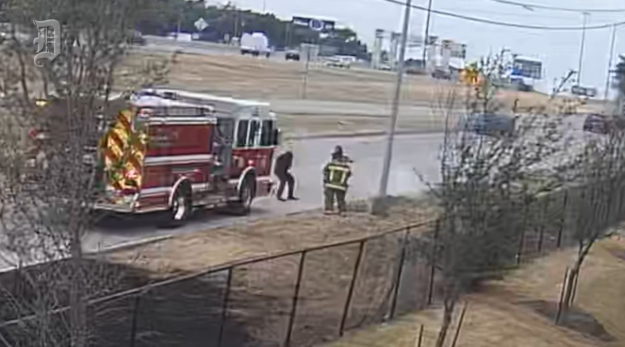 VIDEO: Dallas (TX) Fire-Rescue Paramedic Kicks Homeless Man at Least Nine Times Before Police Arrive