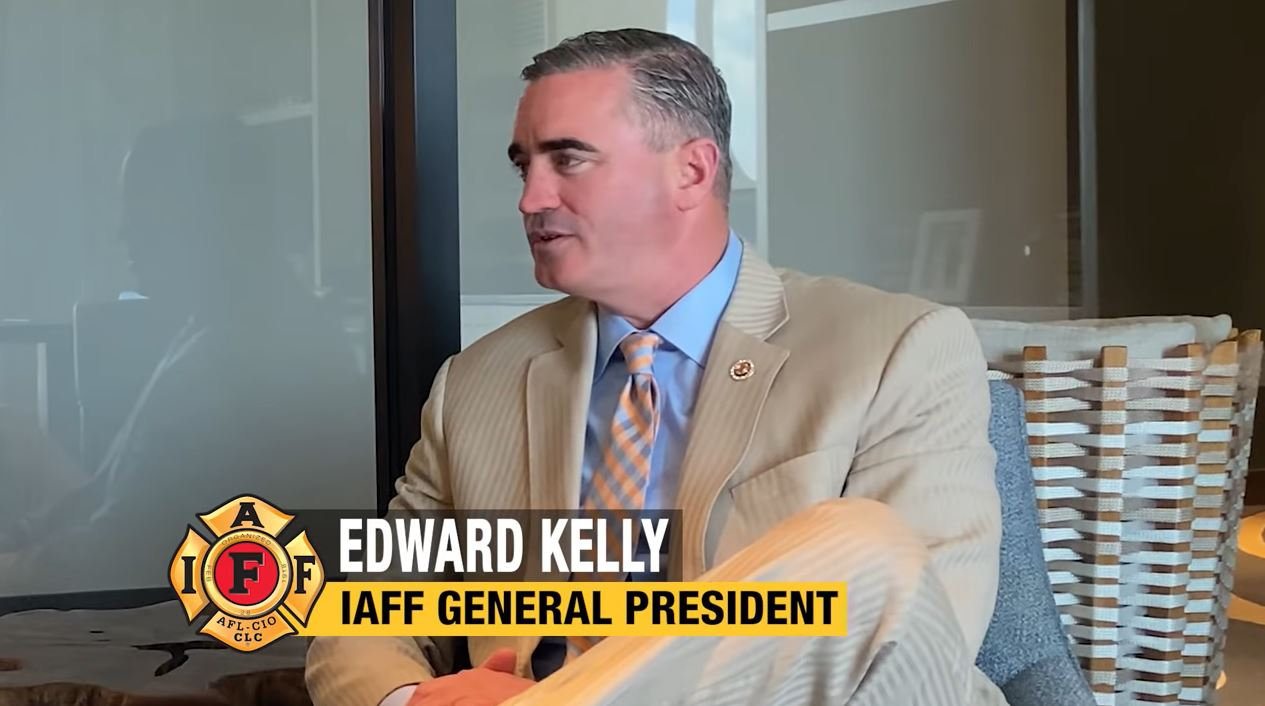VIDEO: Interview with IAFF General President Edward Kelly