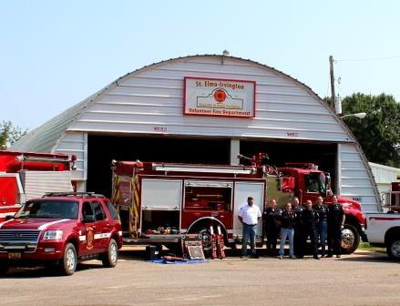 St. Elmo-Irvington (AL) Chief Suffers Heart Attack Fighting Fire